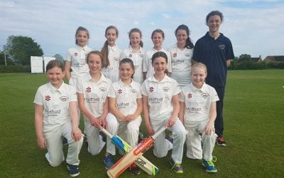 Tiddington Girls' Cricket 2019 – Away to Chearsley